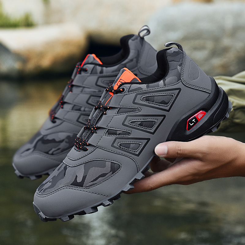 Sneakers For Men Hot Sale Man Hiking Shoes Comfortable Outdoor Brand Non-slip Sports Shoes Popular Low Climbing Shoes 45  46  47