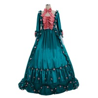 Cosplaydiy Marie Antoinette Rococo Women Luxury Ball Gown Dress Gothic Medieval Victorian Renaissance Rococo Pary Dress L320