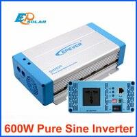 EPEVER SHI600 12 В вход постоянного тока до 220 В 230 В AC Выход Чистая синусоида Инвертор 600 Вт решетки галстук система 50 Гц/60 Гц