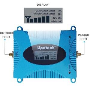 Image 2 - Lintratek Сотовая связь сигнала Усилитель GSM 900 Ретранслятор с ЖК дисплей Дисплей 10 м кабель 2 г смартфон 900 мГц ретранслятор сигнала Комплект усилитель gsm сигнала сотовой связи репитер gsm усилитель сигнала gsm