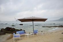 Oversized beach umbrellas Rome umbrella outdoor advertising sun folding send tanks