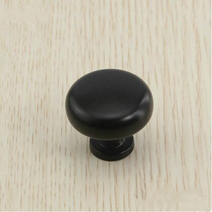 Drawer knobs Dresser pulls Black kitchen cabinet handles knob 30mm black cupboard shoe cabinet  furniture decoration knobs pulls jacques lemans liverpool 1 1836e