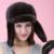 Otoño invierno muy cálido por debajo de cero show mujeres de visón muffs fur estilo de rusia señora luxur sombrero de piel famosa banda nueva