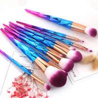 Pro Colorido Suave Coutour Misturando Pincéis de Maquiagem Conjunto Fundação Blush Em Pó Da Sombra de Olho Compo a Escova Ferramenta de Beleza Cosméticos Kit