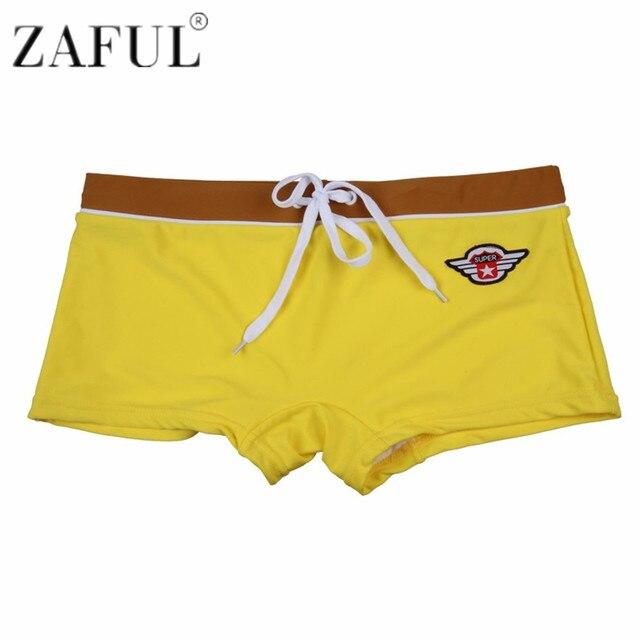 605eb9f8ae ZAFUL 2018 New Men's Swimwear Sexy Men's Swimming Shorts Sea Big & Tall  Plus Size Men Beachwear Swimsuit Board Short for Men