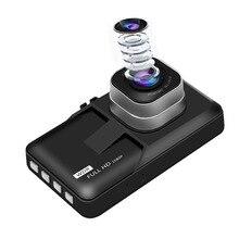 Новые 3 дюйма ЖК-дисплей Видеорегистраторы для автомобилей Камера видео Регистраторы с G-Сенсор Ночное видение обнаружения движения WDR 170 градусов Широкий формат