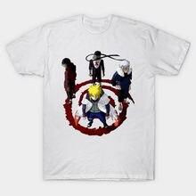 Los nuevos hombres de la moda ropa de marca Anime Naruto camiseta Hip Hop  Uzumaki Naruto 068acc0f552