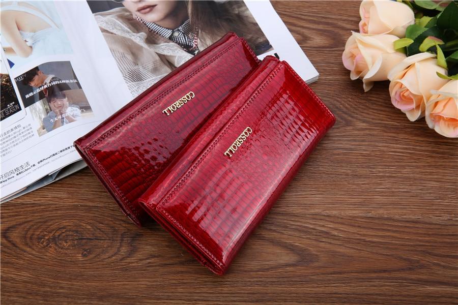 mulheres de marcas famosas carteiras Lining : Genuine Leather