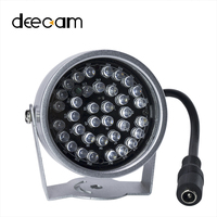 DEECAM CMOS None Lens Fake Camera Dummy Camera IR Distance 30 Meters 36pcs LED Outdoor Dome