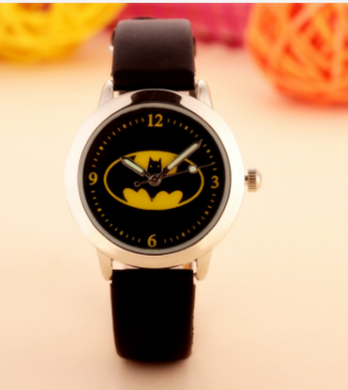 1pcs Batman Children Fashion Watches Quartz Wristwatches Waterproof Jelly Kids Clock boys girls Students watch new arrival hansying brand children 3d butterfly strap quartz watch kids girls boys waterproof watches students clock reloj