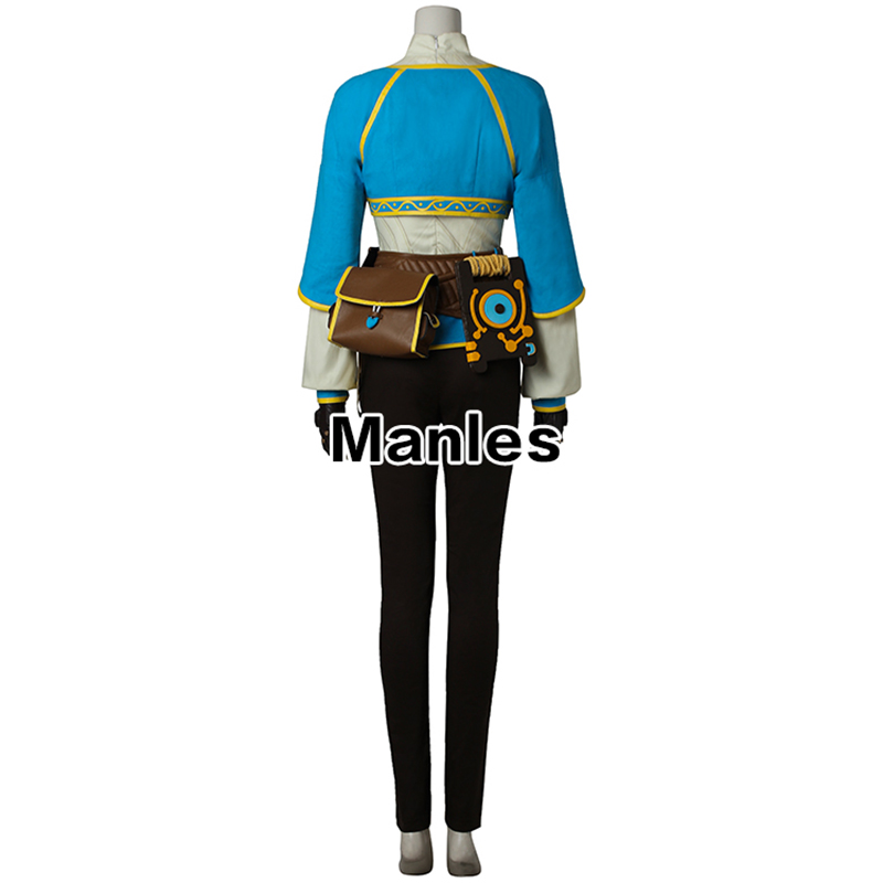 Image 2 - Cosplay The Legend of Zelda Breath of the Wild  Anime Princess Zelda Halloween Costume Carnival Suit Adult For Women Custom Made-in Game Costumes from Novelty & Special Use