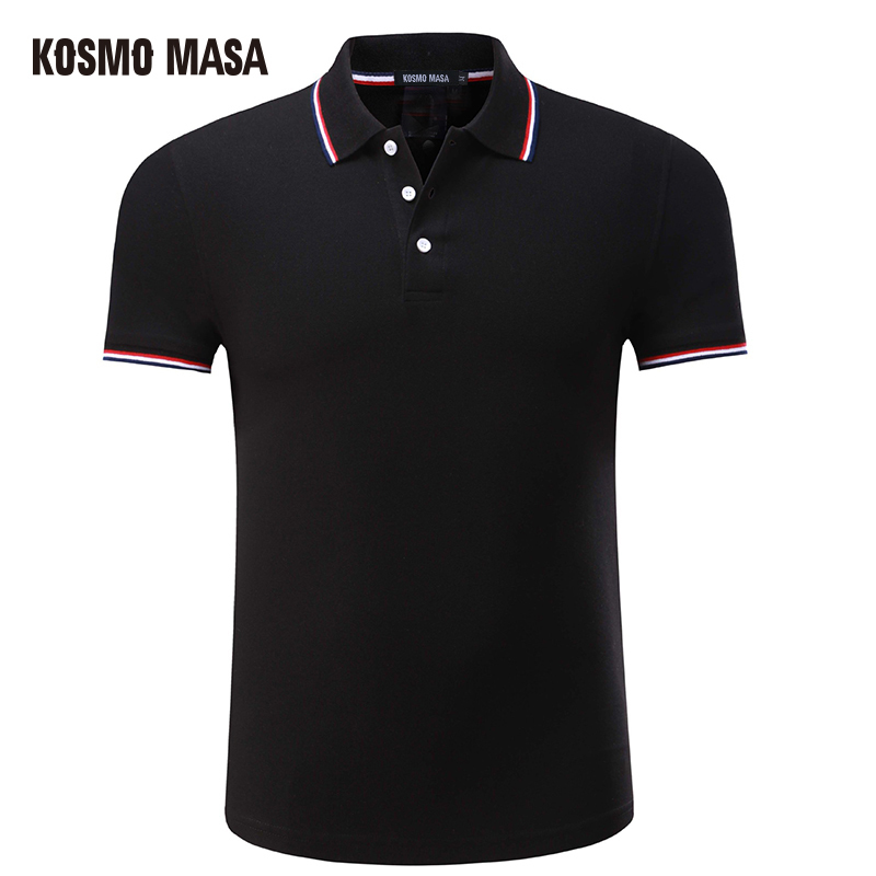 KOSMO MASA 2018 Custom Cotton Solid Casual   Polo   For Men Summer Short Sleeve Anime Shirt Men's Jersey Camisas   Polo   Shirts PS0022