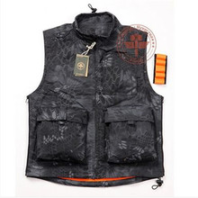 Rattlesnake airsoft tactical vest hunting shooting sport clothes men outdoor bike riding vest