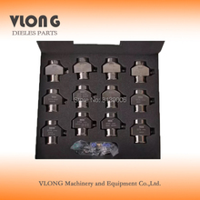 12pcs No. 1062A common rail injectors adaptor electric control injector clamp High pressure repair and maintenance tool