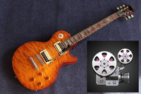 China S Guitar Wholesale Custom Shop Electric Guitar G Color Shell Mosaic Guitar The Signature Of