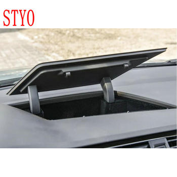 STYO FOR LHD VW TOURAN 2016-2018 TIGUAN 2017 2018 Front Central Console Dashboard Black Box Storage Holder