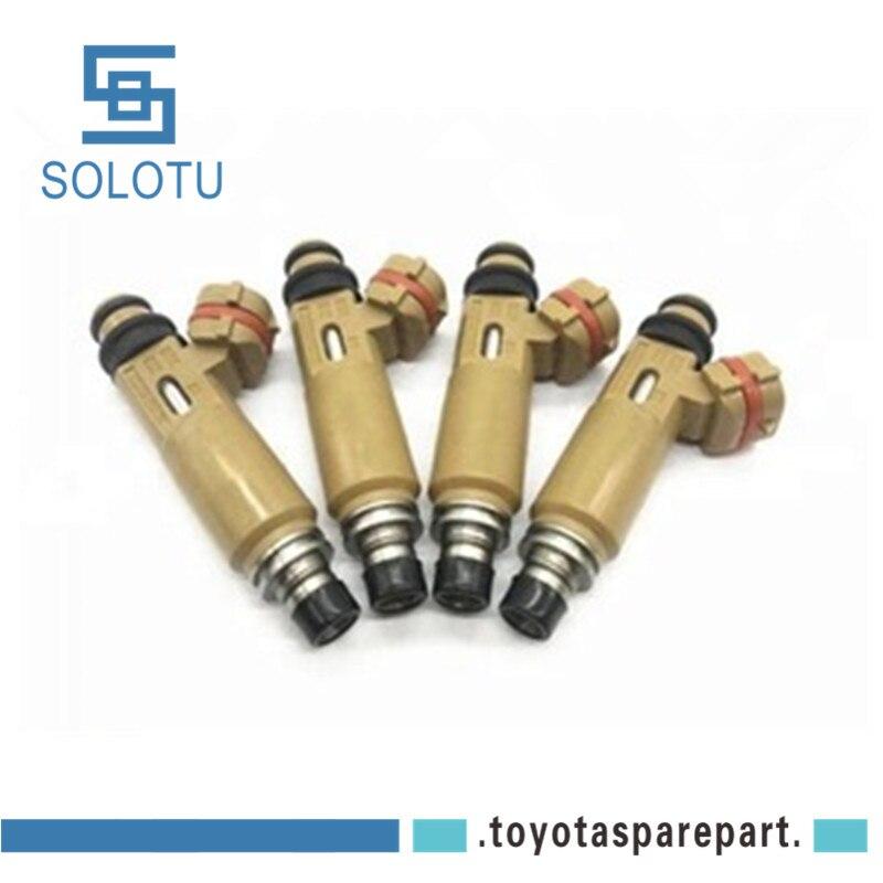 4pcs lot Fuel Injector Nozzle For AVENSIS RAV4 3SFE ST220 SXA1 23250 74170