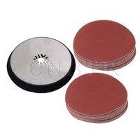 CNBTR 3 Set 115mm Universal Oscillating Polishing Round Sanding Pad Sandpaper