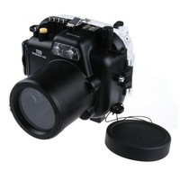 Waterproof Underwater Housing Camera Housing Case for Canon 70D 18 135mm Lens Meikon