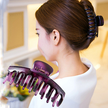 Women headwear Large hair claw korean clips for  shower room vintage accessories women