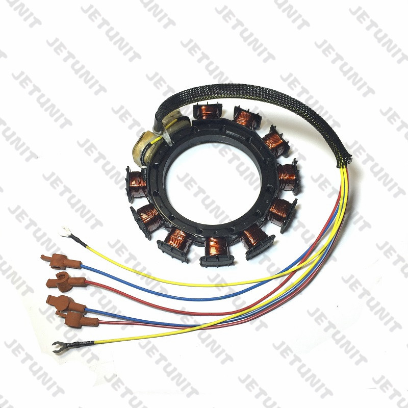 JETUNIT Outboard 9 Amp Stator FOR Mercury 30-85hp 9 Amp 3&4 Cylinder 398-5454 A21 A22 A24 A25 A26  174-5454K1