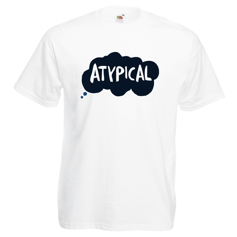 Cool Funny T Shirt High Quality Tees ATypical TV Show Inspired Netflix Printed T-Shirt Adult Sizes O-Neck Short-Sleeve T Shirts