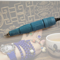 Бесплатная доставка оригинальный корейский микромотор Marathon шлифовальный станок H37L1 ручная дрель для дизайна ногтей для ювелирных изделий ...