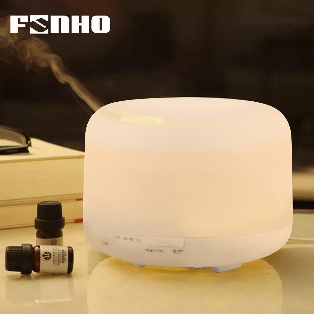 FUNHO 500 ml Aroma Elettrico Essentieloil Diffusore Aria Condizionata Dedicato Aromaterapia Umidificatore Grano Aromaterapia Humidificador