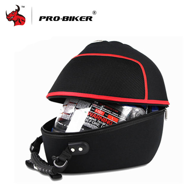 PRO-BIKER Motorcycle Bag Moto Helmet Bag  Motorbike Travel Multifunction Tool Tail Bag Handbag Luggage Carrier Case 1