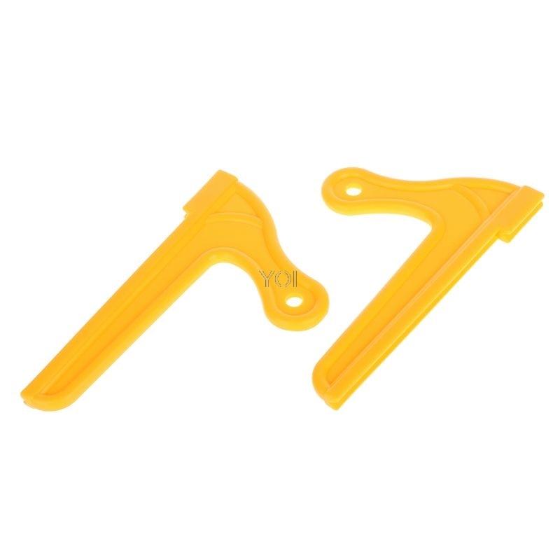 2 Teile/satz V-typ Holz Sah Push-sticks Für Zimmerei Tisch Arbeits Klinge Router Klinge Holz Hand Werkzeuge Niedriger Preis