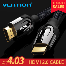 Kabel HDMI VenTion HDMI do kabla HDMI HDMI 2.0 4 k 3D 60FPS kabel do Splitter przełącznik TV laptop LCD PS3 projektor komputer kabel(China)