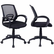 Sets of 2 Ergonomic Mesh Computer Office Chair Desk Task Midback Task Black New 2*CB10061(China)
