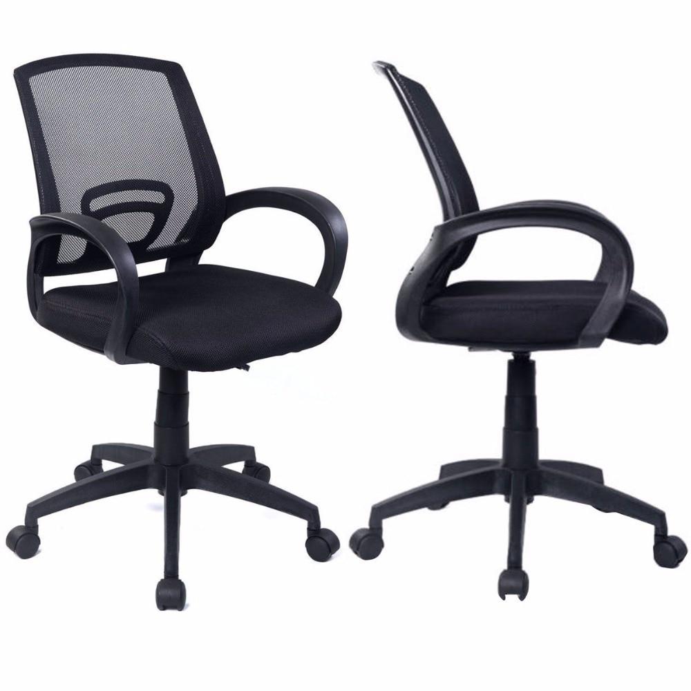 sets of 2 ergonomic mesh computer office chair desk task midback task black new 2 bedroomsweet ergonomic mesh computer chair office furniture