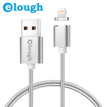 E03 Magnetic Cable Magnetic Charger For 8 Pin Apple iPhone 5 6 6S 7 Plus Fast Charge Magnet Charger USB Cable Wire Cord
