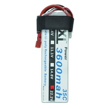 XXL RC battery 3600mAh 22.2V 6S 35C Max 70C LiPo Battery for RC Helicopters Boats Cars Rechargeable quadcopter