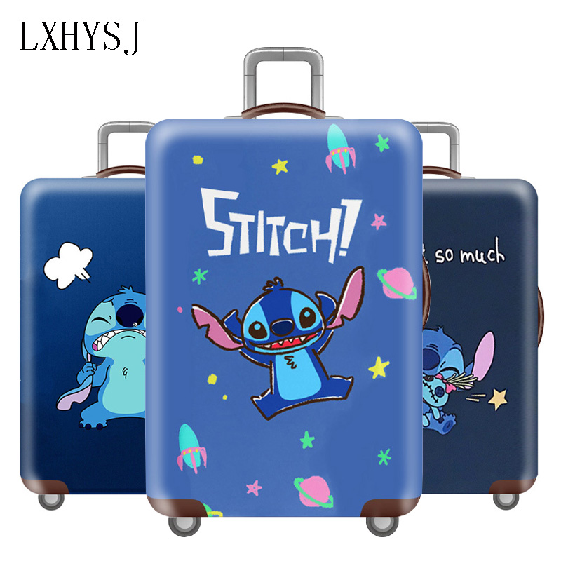 Travel Thicken Luggage Cover Elasticity Suitcase Protective Case Suitable For 18-32 Inch Trolley Dust Cover Travel Accessories