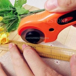 New School Cutting Tool Rotary Cutter Premium Quilters Sewing Quilting Fabric 45mm Cutting Craft Tool