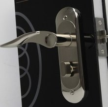 Wholesale- Zinc Alloy Lever Handle door lock D160-0806DN Free Shipping