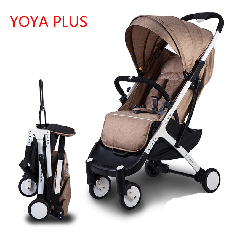 Yoyaplus baby stroller ultra-light folding can sit can lie high-end landscape umbrella baby trolley portable on the airplane baby stroller 5kg ultra light portable on the plane can sit lie simple mini folding baby pocket umbrella summer