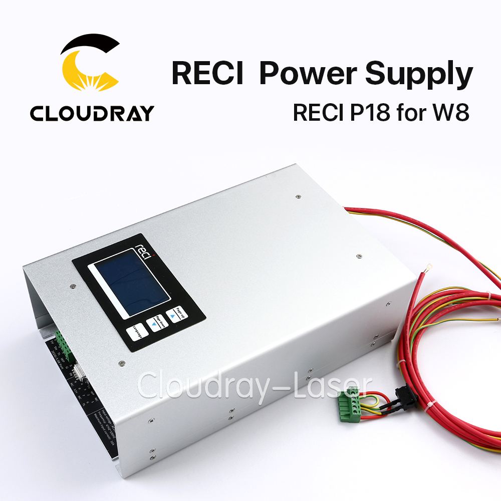 Original Intelligent RECI P18 CO2 Laser Power Supply 150W 110V 220V  for RECI CO2 Laser Tube W8 S8 Z8 dy13 co2 laser power supply for reci s4 and z4 co2 laser tube