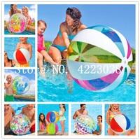Бесплатная доставка 1,5 м Rainbow Цвет надувной пляжный мяч детский водное поло на день рождения новогоднее; рождественское подарок на Хэллоуин