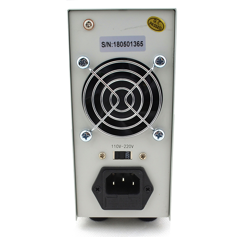 LW-K3010D Mini Digital ajustable fuente de alimentación DC 30V10A de conmutación fuente de alimentación 110 V-220 V para computadora portátil reparación del teléfono - 6