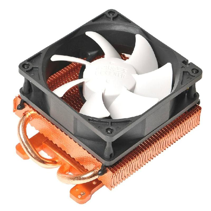 DC 12V Video Graphics Card Heatsink Cooler Fluid Bearing Cooling Fan Heatsink Radiator for ATI Radeon for NVIDIA free shipping firstd fd8015u12s 75mm 12v 0 5a 4 wire video card cooler fan for msi r7950 amd ati radeon hd 7870 cooling fan