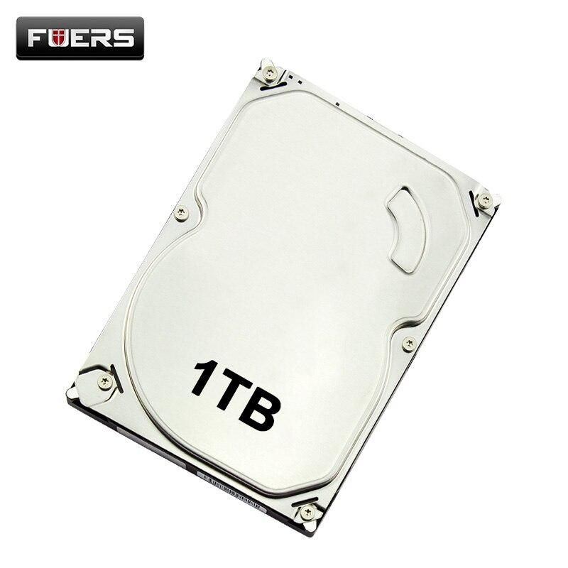 FUERS 1 to 2 to disque dur pour système de sécurité HDD 4 M caméra DVR CCTV PC Surveillance SATA ordinateur de bureau interne HDD