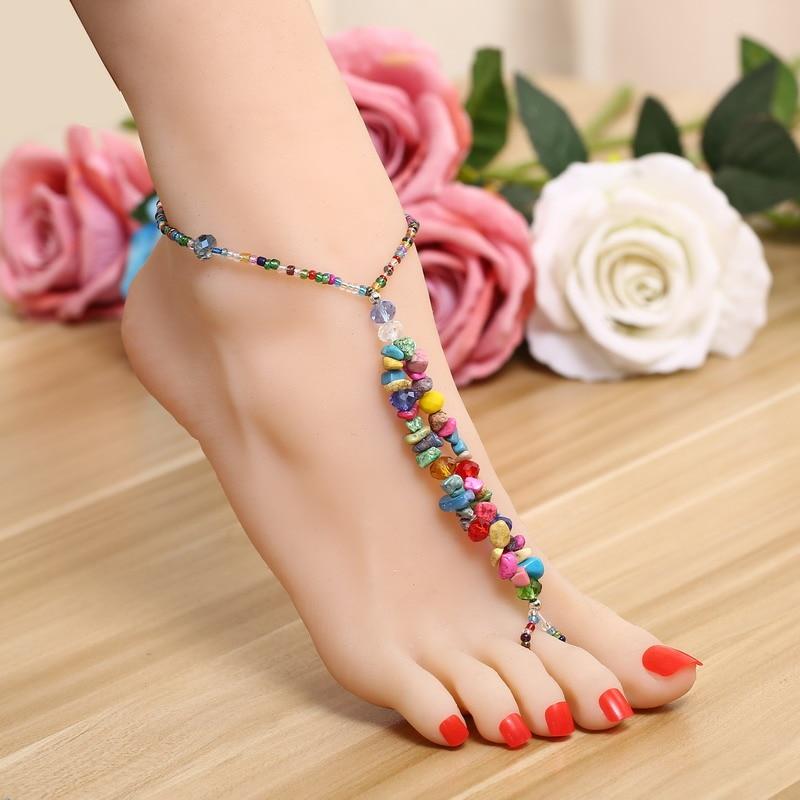 Summer Beach Dress Body Foot Bracelet Anklet DIY Indian Ethnic ...