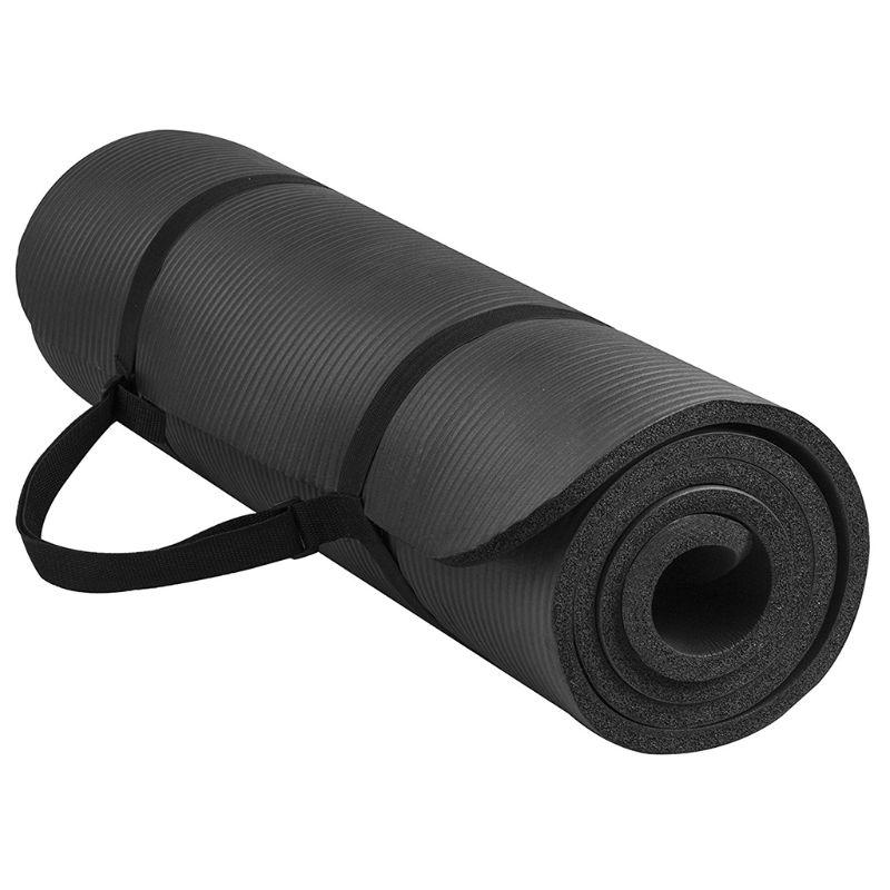 <+>  1 Компл. Йога Коврик Очень Толстый 1 см Пилатес Фитнес-Подушка Non Slip Упражнение Pad Плотность Бал ①