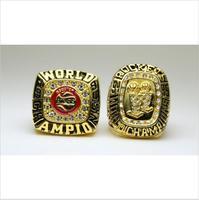 One Set 2 PCS 1994 1995 Houston Rockets National Basketball Championship Ring 10 Size US