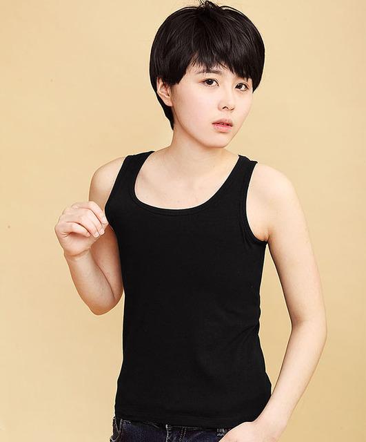 Chest Binder Tomboy Flat Vest long Breast Corset Les Slim Undershirt Breathable