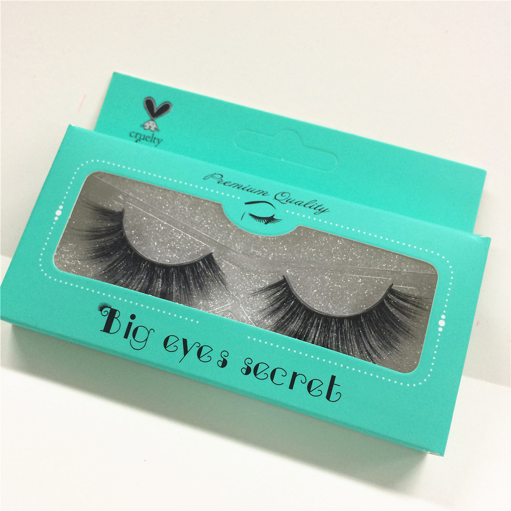 100% Handmade 3D mink hair Beauty Thick Long False Mink Eyelashes Fake Eye Lashes Eyelash High Quality free shipping