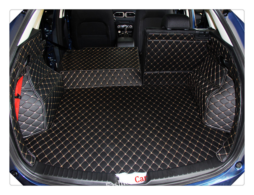 for mazda cx5 2018 interior rear trunk mat boot carpet cover. Black Bedroom Furniture Sets. Home Design Ideas